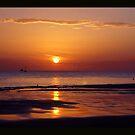 sunset beach by Els Steutel