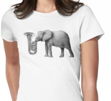 Tuba Womens Fitted T-Shirt
