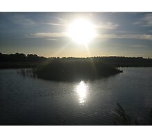 Sunset - Fulbourn, Cambridgeshire Photographic Print