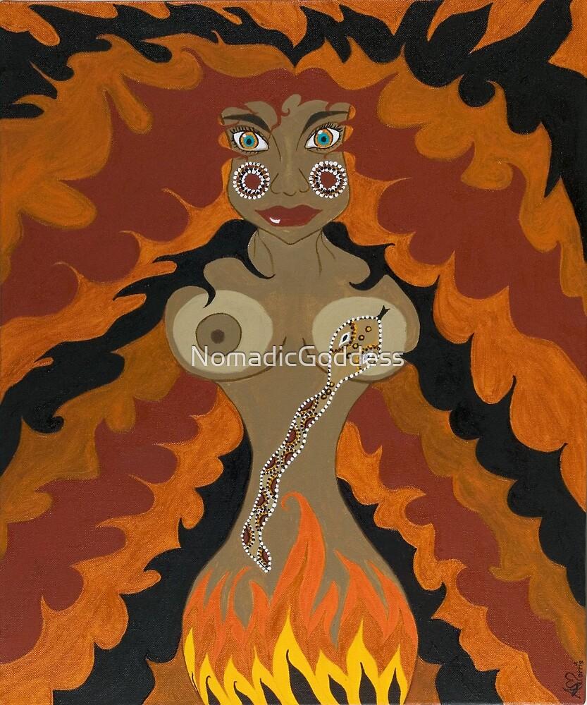 Fire Goddess by NomadicGoddess
