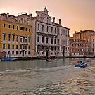 Sunset in Venice by Claudia Reitmeier