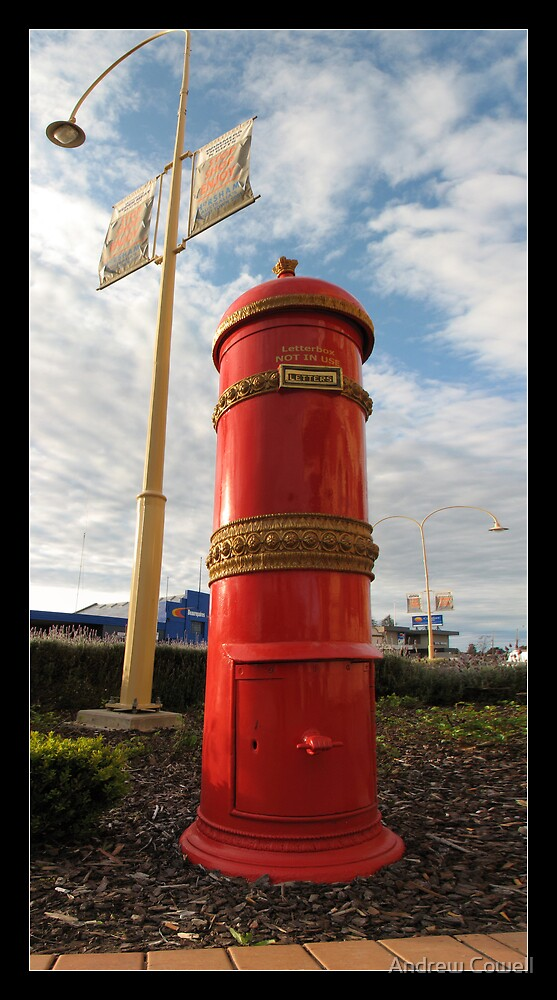 postbox by Andrew Cowell