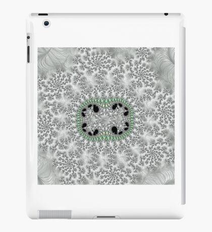 WHITE WEDDING FRACTAL ART iPad Case/Skin