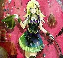 Yu-gi-oh! - Dark Magician Girl by ghoststorm