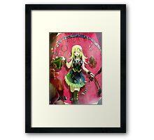 Yu-gi-oh! - Dark Magician Girl Framed Print