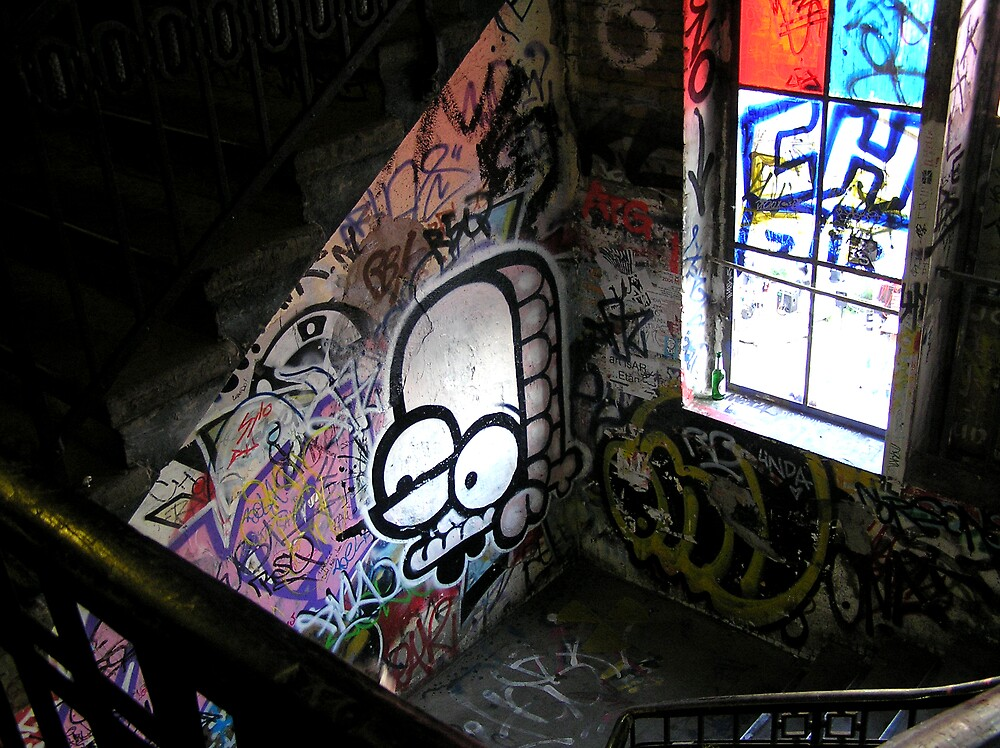 Stairwell by Dave R