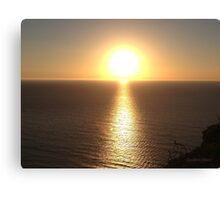 San Francisco Sunset 146 Canvas Print