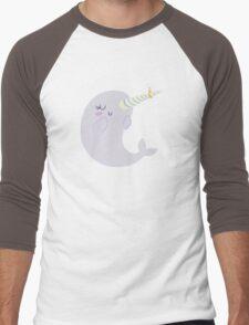 Engaged Narwhal Men's Baseball ¾ T-Shirt