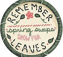 Mumford & Sons Embroidery Style Lyrics by Jessefire