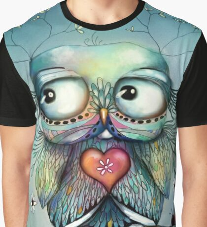 little wood owl Graphic T-Shirt