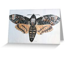 Deaths Head Hawkmoth Greeting Card