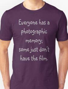 Photographic Memory Unisex T-Shirt