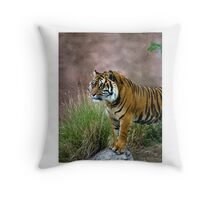Tiger (Panthera tigris) Throw Pillow