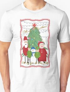 Merry Christmas from the Clauses T-Shirt