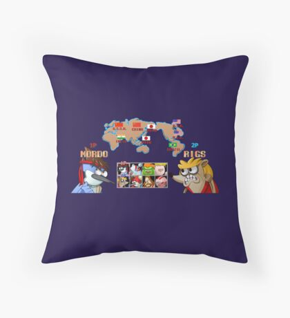 Choose your fighter Throw Pillow