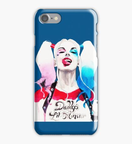 harley quin iPhone Case/Skin
