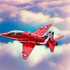 "RAF ""Red Arrows"" Hawk by Chris Lord"