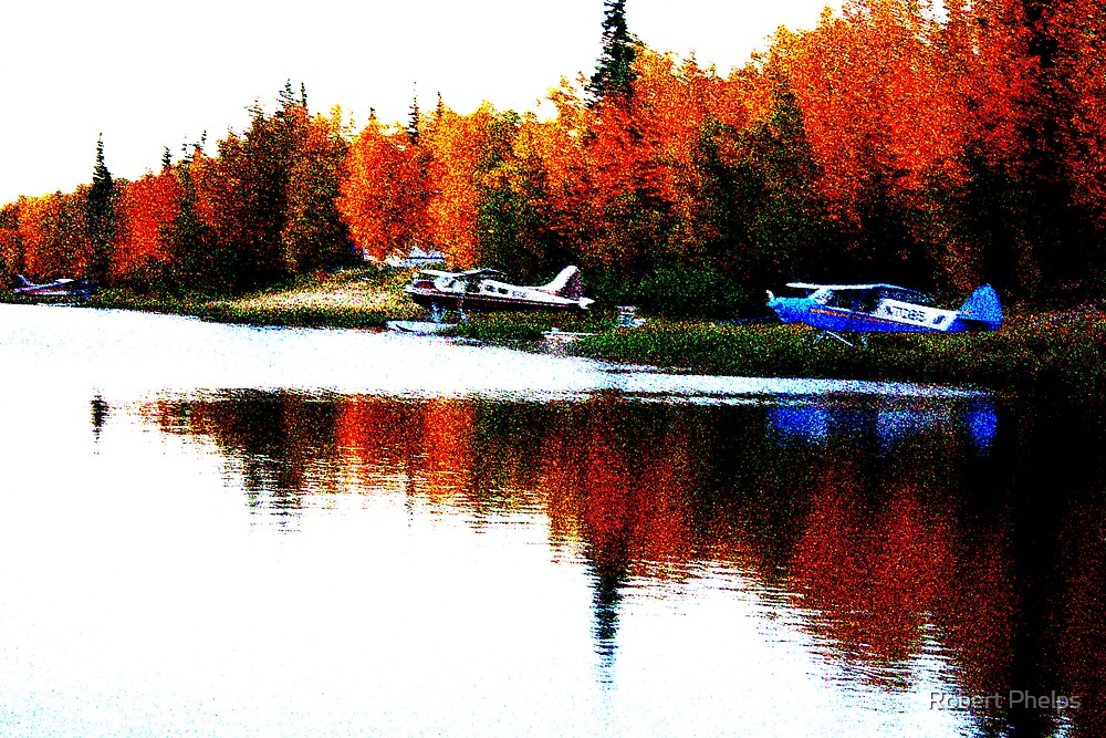 Planes in Autumn by Robert Phelps
