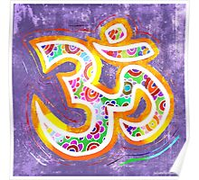 Distressed OM Poster