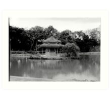 Rokkaku - Do in Black & White Art Print