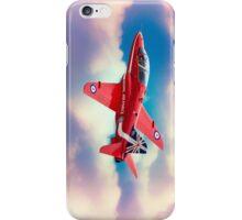 """RAF """"Red Arrows"""" Hawk iPhone Case/Skin"""