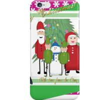 With Love from the Claus Family iPhone Case/Skin