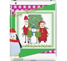 With Love from the Claus Family iPad Case/Skin