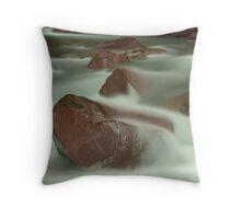 Avalanche Creek II, Glacier NP Throw Pillow