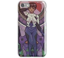 MUCHA GENESIS EVANGELION - shinji iPhone Case/Skin