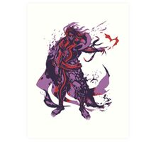 Minimalist Hades Art Print