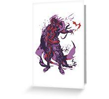 Minimalist Hades Greeting Card