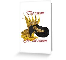 Baby Jesus: The Reason for the Season Greeting Card