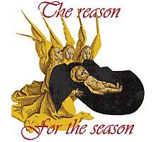 Baby Jesus: The Reason for the Season Photographic Print