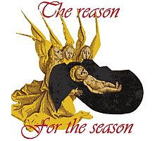 Baby Jesus: The Reason for the Season Photographic Print