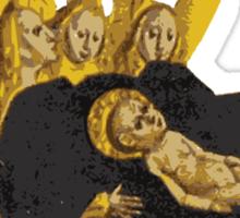 Baby Jesus: The Reason for the Season Sticker