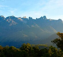 Mt Kinnabalu by diddle