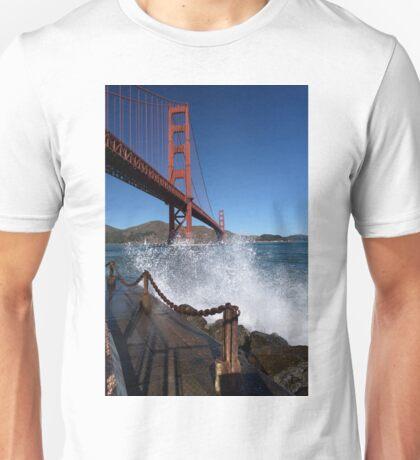 A Wave from Golden Gate Bridge Unisex T-Shirt