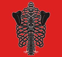 Shoulders and Spine Celtic Design Baby Tee