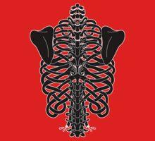 Shoulders and Spine Celtic Design Kids Tee