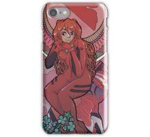 MUCHA GENESIS EVANGELION - asuka iPhone Case/Skin