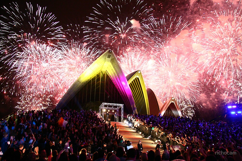 Australian Idol Fireworks 2006 Grand Final by richocam