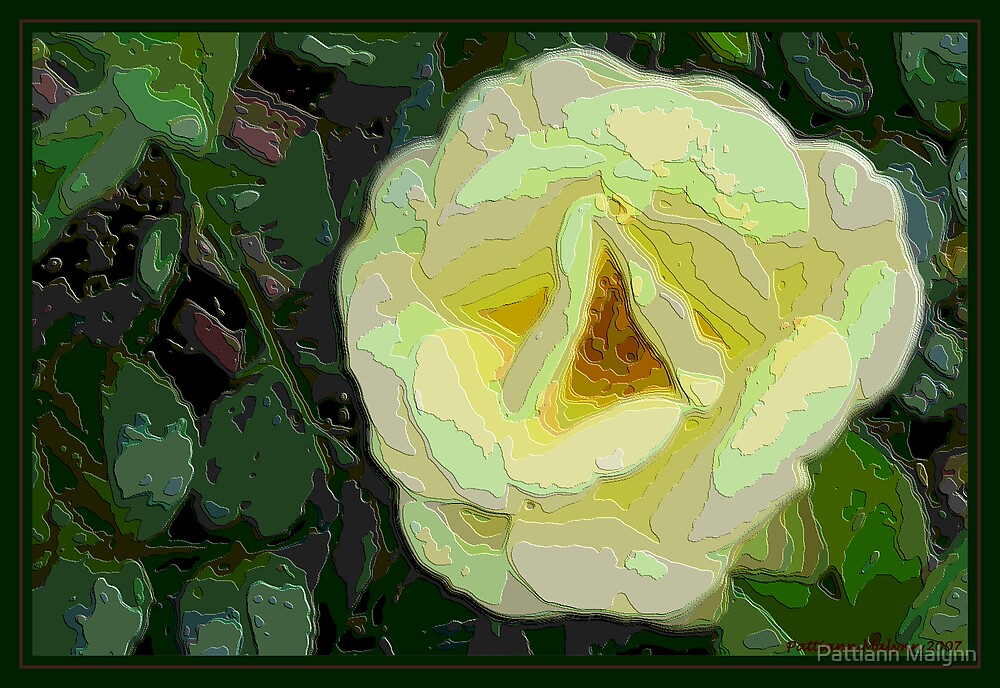 Textured Rose by Pattiann Malynn