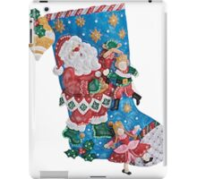 Santa's the Master Puppeteer iPad Case/Skin