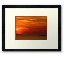 San Francisco Sunset 147 Framed Print