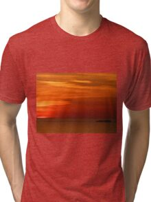 San Francisco Sunset 147 Tri-blend T-Shirt
