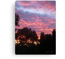 San Francisco Sunset 148 Canvas Print