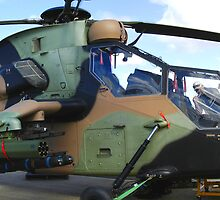 Aussie Tiger attack helicopter by Nathan T