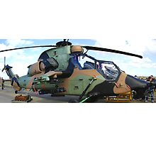 Aussie Tiger attack helicopter Photographic Print