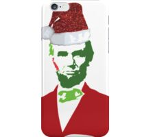 Merry Christmas, Abe! iPhone Case/Skin