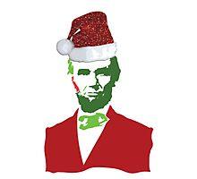 Merry Christmas, Abe! Photographic Print